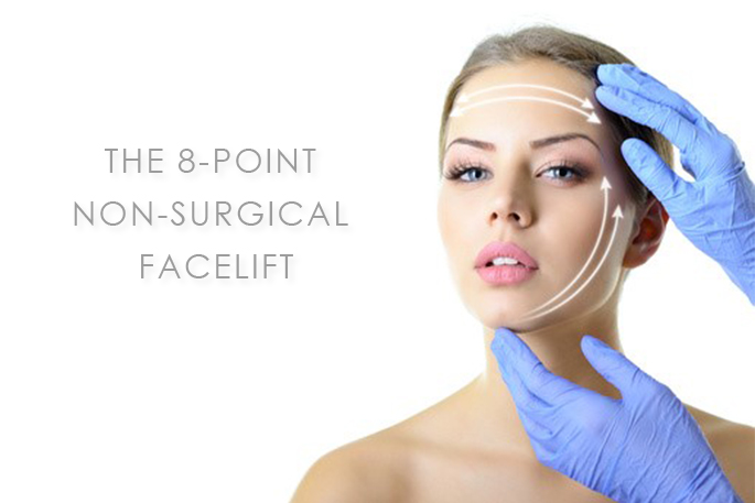 8-point, non-surgical, Facelift